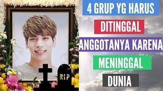 4 Grup K-pop Yang Harus Rela Ditinggal Anggotanya Untuk Selamanya