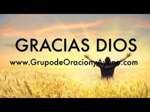 Oración dando gracias a Dios