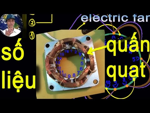 cách quấn quạt cháy cuộn dây sơ đồ mạch quạt máy,fix electric fan
