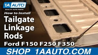 How To Install Replace Tailgate Linkage Rods Ford F150