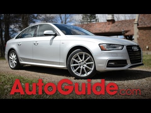 2014 Audi A4 2.0T quattro Review