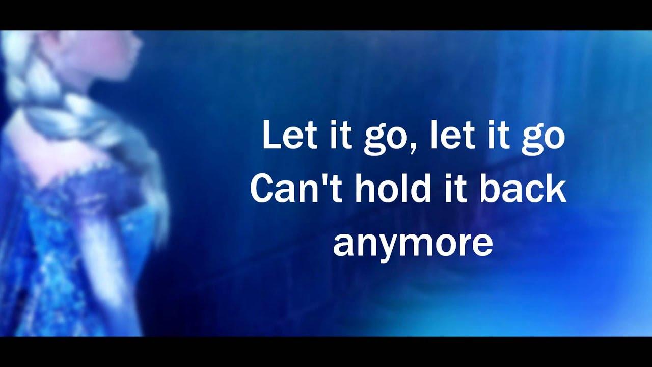 idina menzel frozen let it go lyrics - photo #21