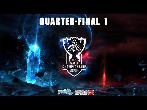 Liên Minh Huyền Thoại | 2015 World Championship | Tứ Kết 1 | Flash Wolves vs Origen