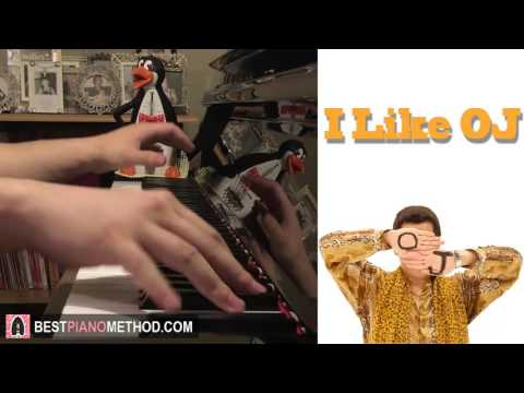 youtube video PIKOTARO (PPAP Singer) -  I Like OJ  (Piano Cover by Amosdoll) to 3GP conversion