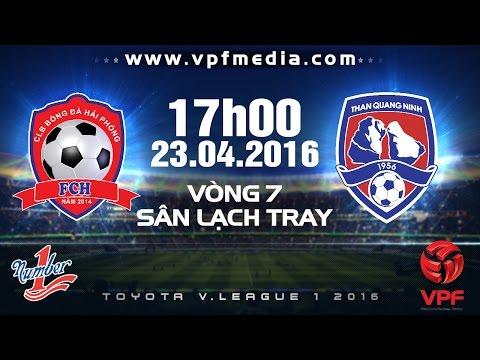 Hải Phòng vs Than Quảng Ninh - V.league 2016   FULL