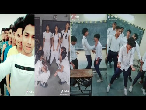 College & School Girl's and Boys Tik Tok Video |  Tik Tok Funny Video School & College Students