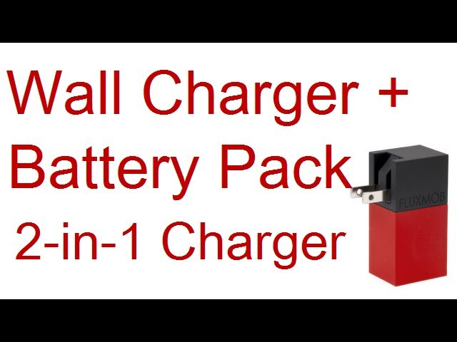 Power Bank + USB Wall Charger: 2-in-1 Fluxmob Bolt Charger Review