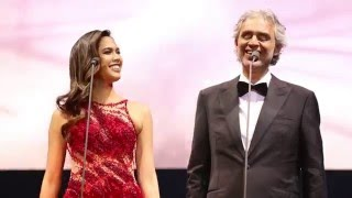 Andrea Bocelli & Christine Allado - Cheek To Cheek - Cinema World Tour Manila