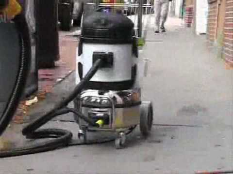 Sidewalk Steam Chewing Gum Removal Machines Daimer