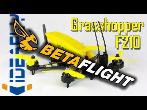 Grasshopper F210 - Transformed by Betaflight 3.0 - How to and why