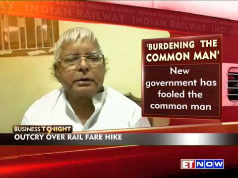 Narendra Modi Government Criticised For Raising Railway Fares