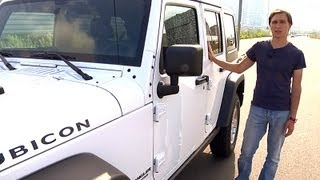 Jeep Wrangler. Мини-тест