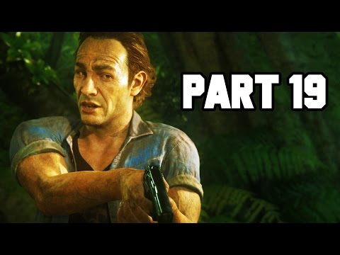 EPIC JUNGLE BATTLE!! Uncharted 4 Gameplay Walkthrough Part 19 - Chapter 13 (PS4 1080p HD)