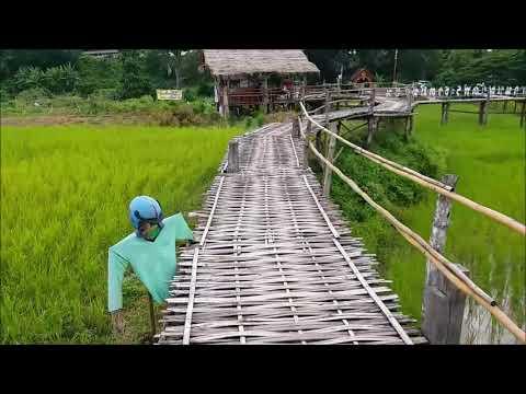 le pont en bambou de lampang