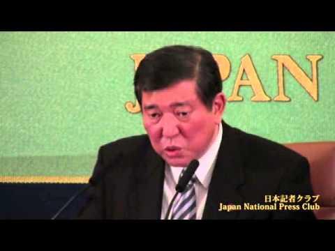 石破 茂 自由民主党幹事長  2013.12.11