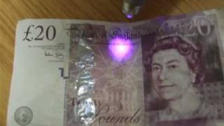 Thames Valley Police How To Spot A Fake £20 Note