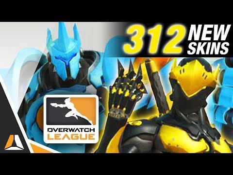312 nouveaux skins Overwatch annoncés ! ► Overwatch League