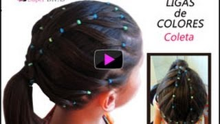 Peinados infantiles para fiestas