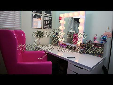 Vanity Tour + Makeup Collection + Organization