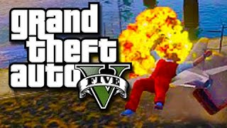GTA 5 Online Funny Moments! – Frozen!