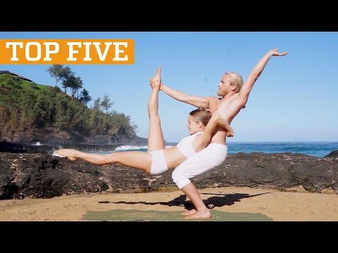 Top Five: Freerunning, Cliff Diving & AcroYoga | PEOPLE ARE AWESOME 2017