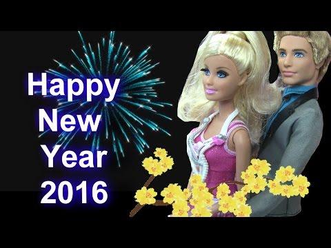 Cuộc Sống Barbie &  Ken (Tập 26) Barbie Đón Giao Thừa Cùng Disney Công Chúa / Barbie's New Year