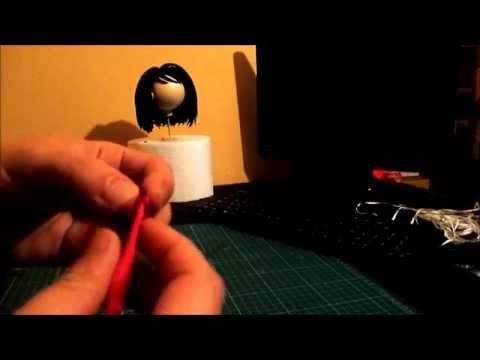 Tutorial para hacer rosas con cinta de raso. Ribbon rose