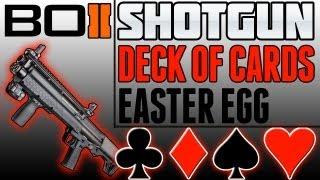 "BO2 ""Shotgun Deck Of Cards Easter Egg"" (Black Ops 2"