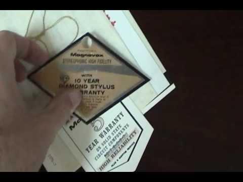 1967 Magnavox Magnasonic Console Stereo