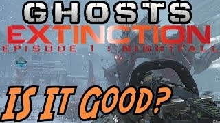 "Call Of Duty: Ghost EXTINCTION ""NIGHTFALL"" Review! (COD"