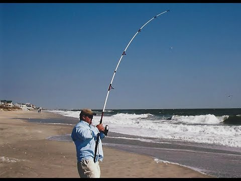 Surf fishing fishing for bluefish youtube for Surf fishing nj license