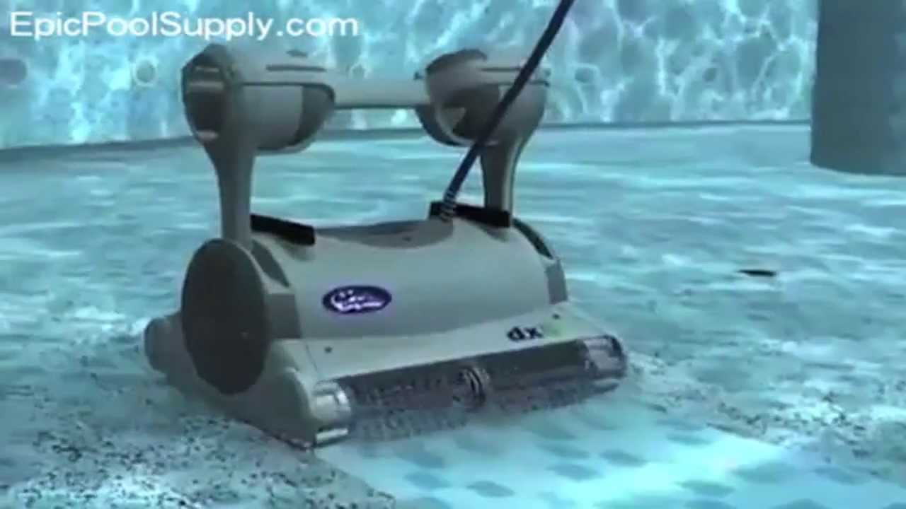 Maytronics Dolphin Dx6 Robotic Pool Cleaner Youtube