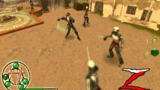The Destiny Of Zorro Video Game Trailer Wii