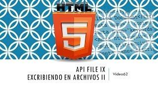 Curso de HTML 5. Parte 62
