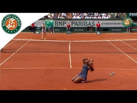 Roland Garros 2013 women's singles final: S. Williams d. M. Sharapova