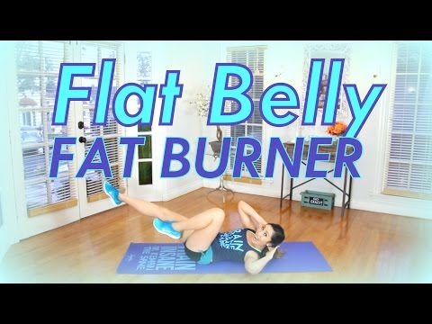 Flat Belly Fat Burner | POP HIIT