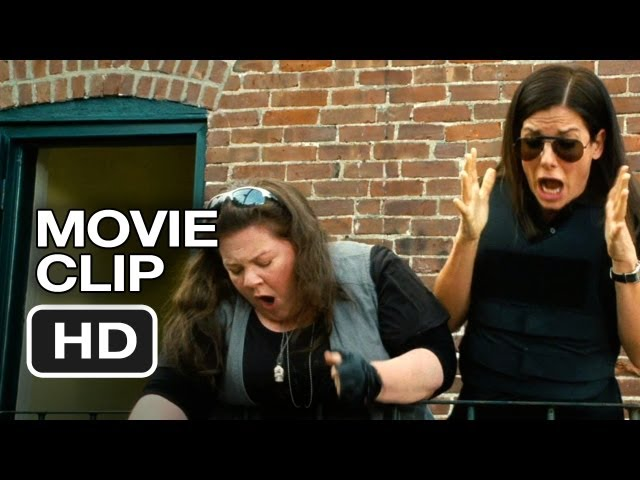 The Heat Movie CLIP - Awfully Heavy (2013) - Melissa McCarthy, Sandra Bullock Movie HD