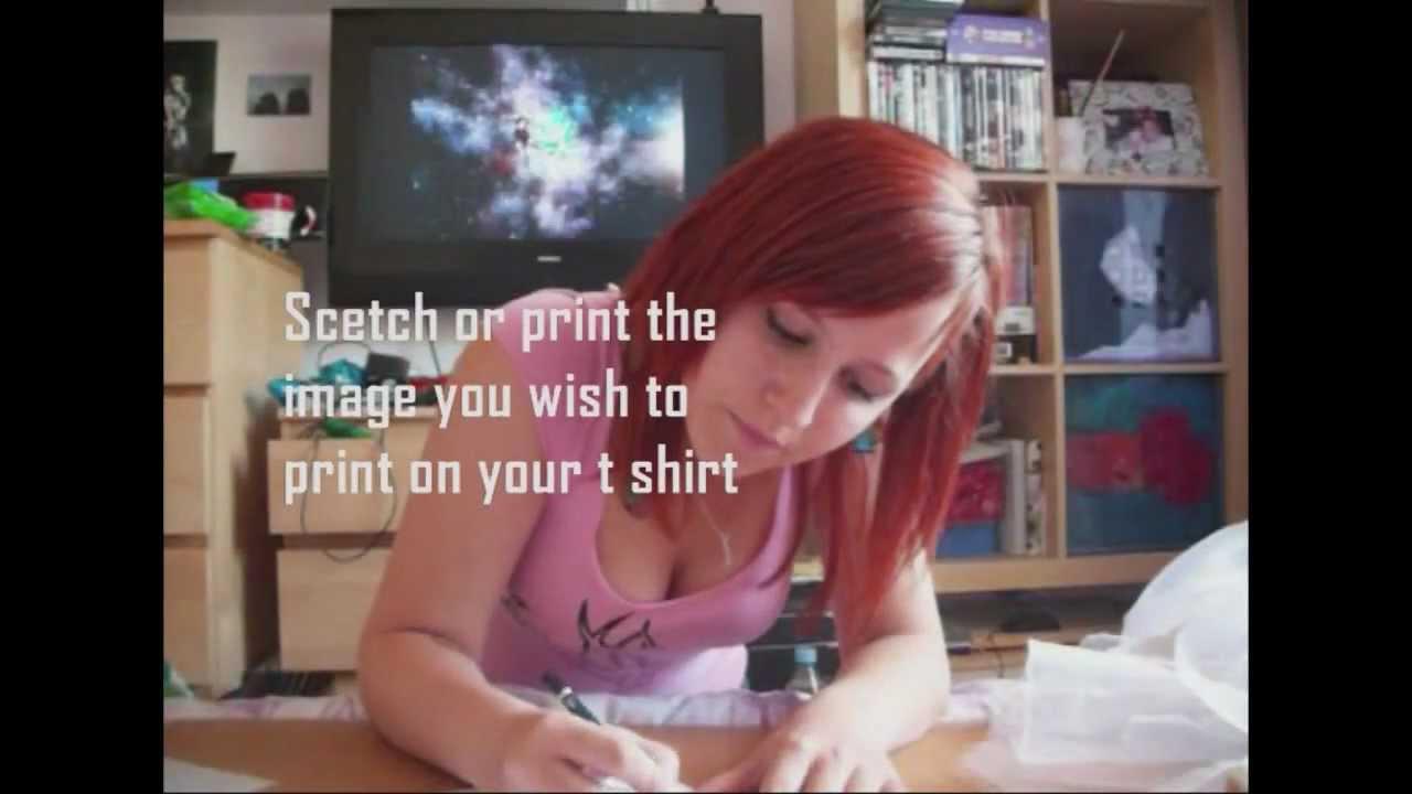 Diy T Shirt Screen Printing At Home Youtube