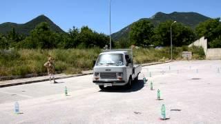 Raduno Auto Storiche Montella (AV) Slalom Fiat 900