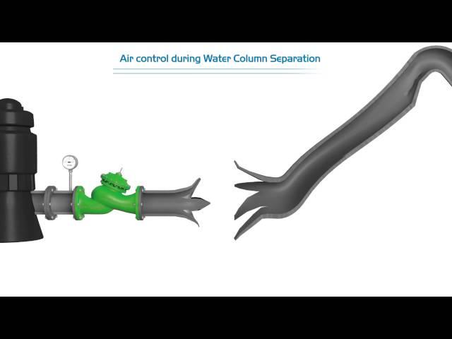 Separación de la columna de agua