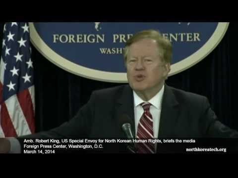 Amb. Bob King on DPRK human rights