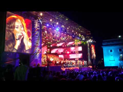 Better in Time - Leona Lewis - Joseph Calleja Concert 2014