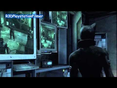 Batman: Arkham City Cutscenes Part 25 {Catwoman Saves Batman}