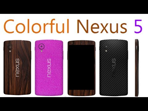 Change Color Of Google Nexus 5 In 5 Minutes- Variety Of Color & Texture Options