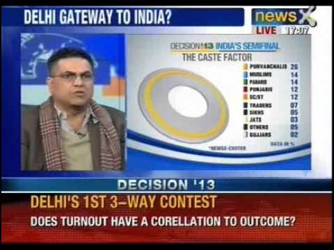 Assembly Election 2013: Exit polls surprises the country, part 1 - NewsX