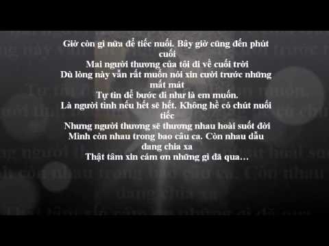 [YP]- Người Thương- HamLet Trương (Lyric)