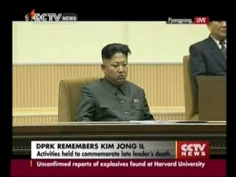 Pyongyang Commemorates the 2nd Anniversary of Kim Jong-il's death.