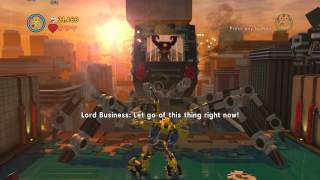 The LEGO Movie Videogame Level 15: The Final Showdown