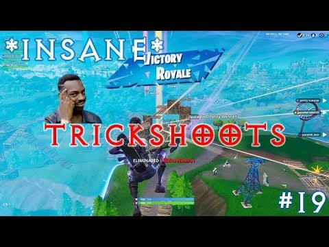 *TRICKSHOTS*83m Shockwave Heavy Sniper No Scope  - Fortnite Funny Fails and WTF Moments!#19