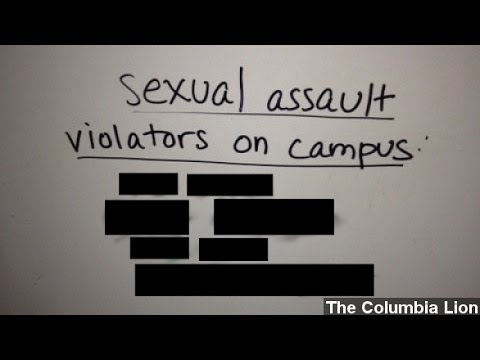 Columbia Students Post 'Rapists On Campus' Flyers